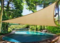Triangle Shades Garden Shade Sail For Swimming Pool 100% Virgin HDPE Available