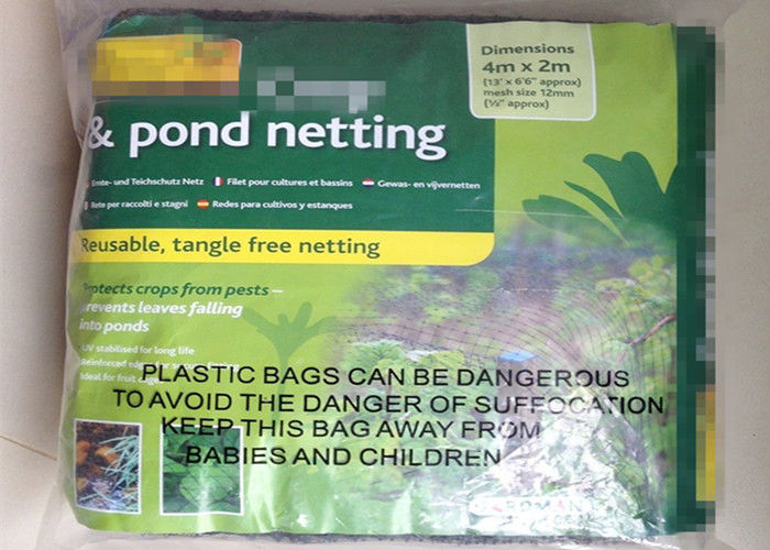 PP Material Pond Cover Child Safety Netting For Garden And Pool